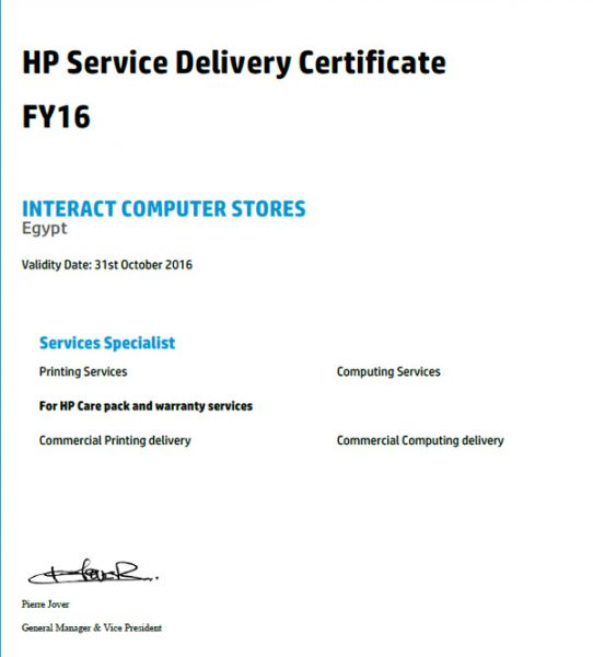 HP Service Delivery