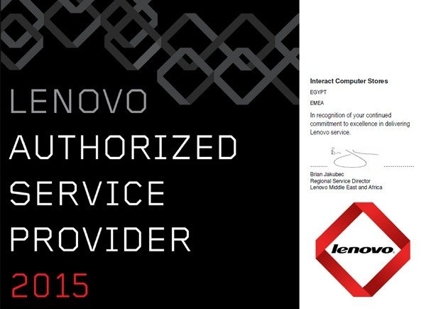 Lenovo Authorized Service Provider 2015